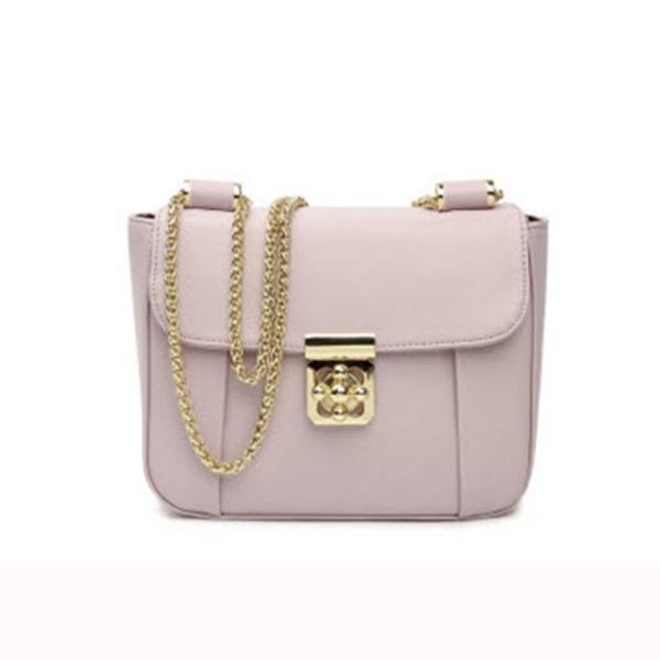 กระเป๋าสะพายสายโซ่สีทอง แบรนด์ How R U