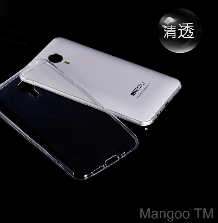 Soft TPU Clear case MEIZU M1 NOTE