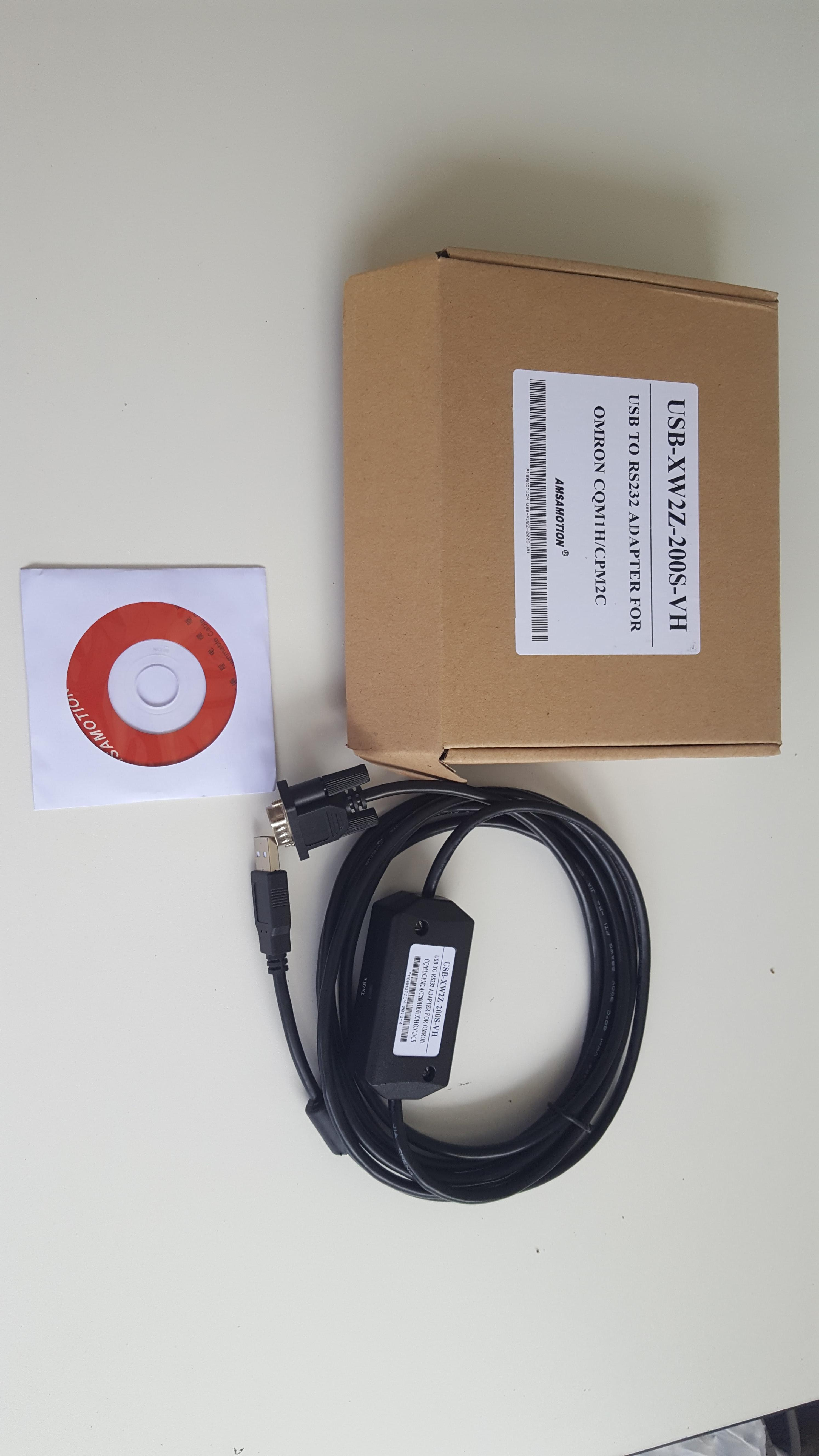 สายโหลด USB-XW2Z-200S-VH Omron CQM1H / CPM2C / 2AH / CJ1M programming cable