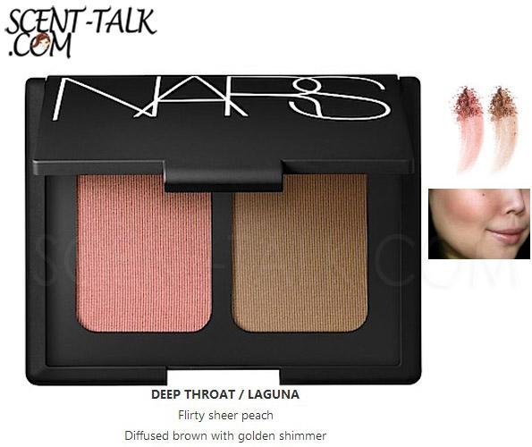 NARS blush/brozer duo #Deep Throat/Laguna (Box)