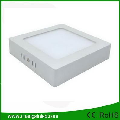โคมไฟ LED ติดเพดาน Surface Mounted Panel Light 12w เหลี่ยม