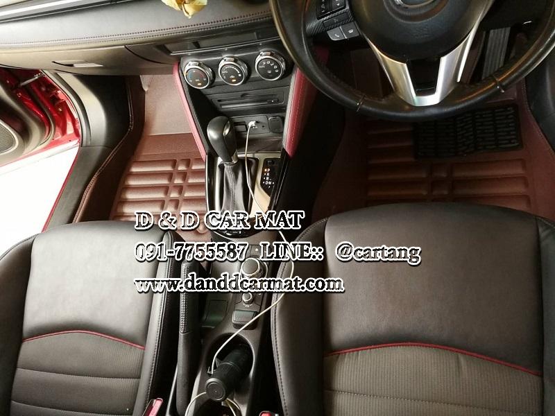 ถาดปูพื้น พรมปูพื้นรถยนต์ 5D MAZDA CX5 2017 2018