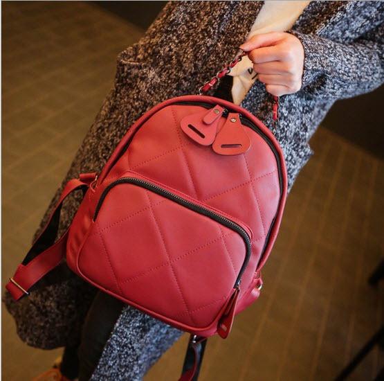 British Quilted Shoulder Bag