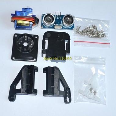 HC-SR04 9G SG90 servo motor FPV dedicated nylon PTZ for arduino kit