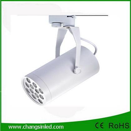โคมไฟ LED Track Light 12W เป็นชุดโคมไฟใช้กับรางไฟโคมสีขาว
