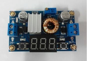 LED Driver With Voltmeter DC-DC adjustable step down 5A 75W