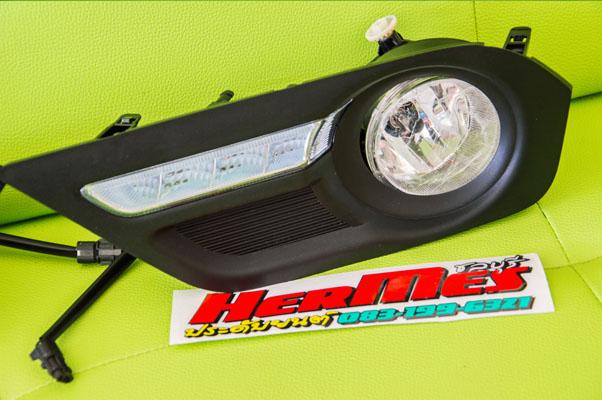 ชุดไฟเดย์ไลท์ Mu-X สำหรับ 2.5 CD เท่านั่น (2013 ขึ่นไป)