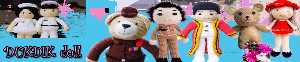 ดุ๊กดิ๊ก shop ขายตุ๊กตาถักไหมพรม งานถักโครเชต์