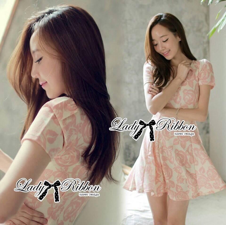 DR-LR-082 Lady Rosy Beautiful Sweet Elegant Dress