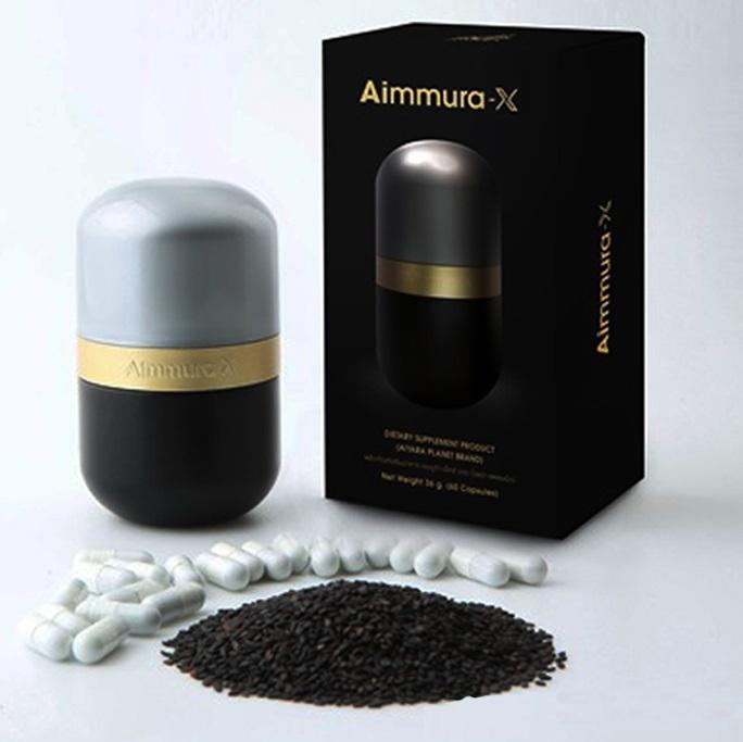Aiyara Aimmura X ไอยรา เอมมูร่า เอ็กซ์ สารเซซามินสกัด จากงาดำ สูตรใหม่ เพิ่มเซซามินเข้มข้น 20 เท่า ส่ง ems ฟรี