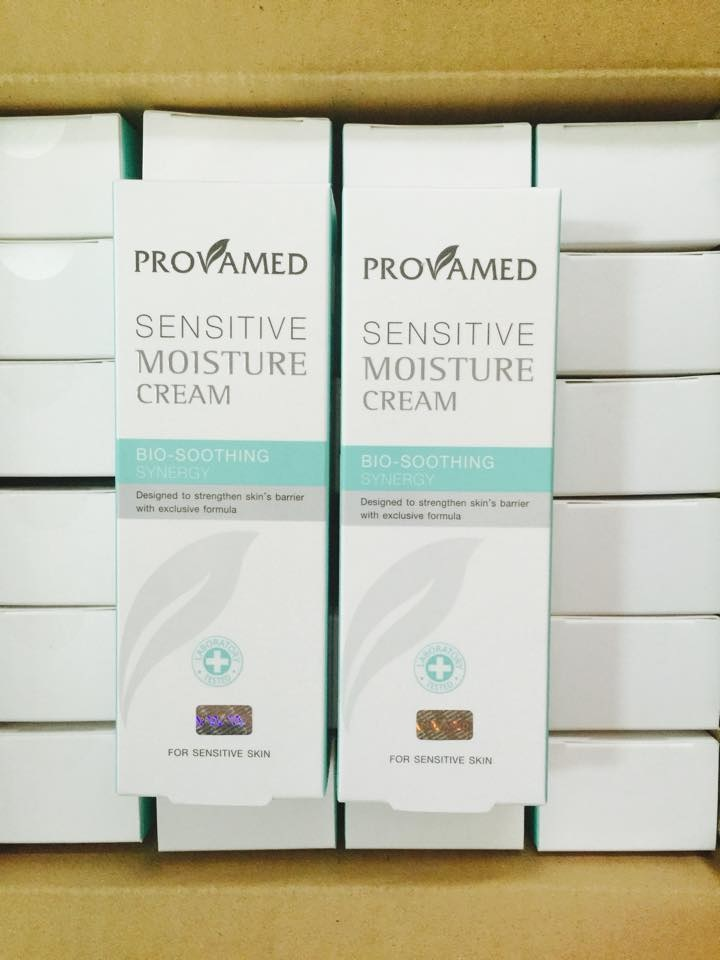 Provamed Sensitive Moisture Cream โปรวาเมด เซนซิทีฟ มอยเจอร์ ครีม 50มล