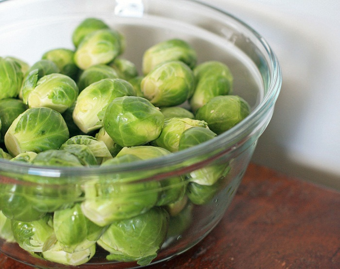 (Whole 1 Oz) กะหล่ำดาว - Brussels Sprouts