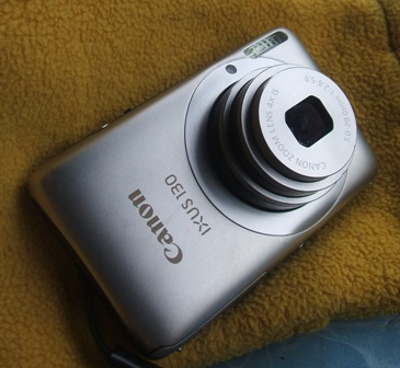 กล้องดิจิตอล Canon IXUS 130 สีเงิน