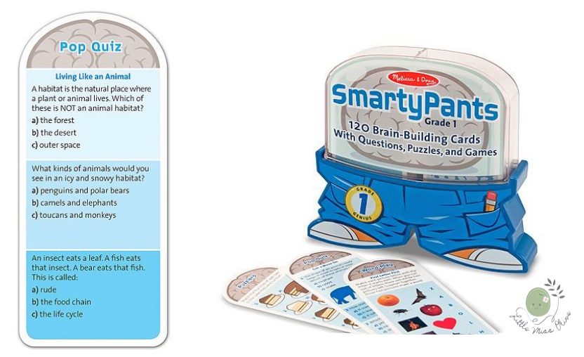 Smarty Pants - Grade1 (Blue) 6Yr+