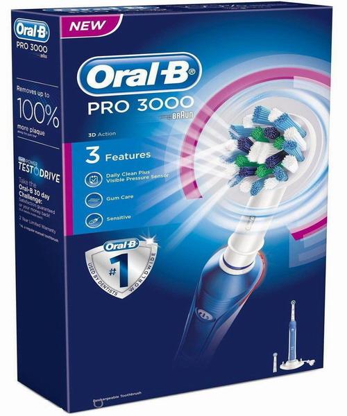 แปรงสีฟันไฟฟ้า Oral-B PRO 3000