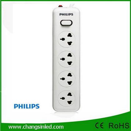 รางปลั๊กไฟ Philips 4 ช่อง 1 สวิตช์ สายยาว 3 เมตร