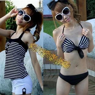 SM-V1-206 ชุดว่ายน้ำแฟชั่น คนอ้วน เด็ก ดารา