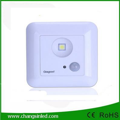 ไฟ LED Ceiling Light Square Motion Sensor 1W