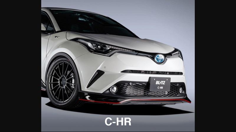 รวมชุดแต่ง Toyota CHR ซีเอสอาร์ แต่ง CHR 2017 มาดู ชุดแต่ง CHR