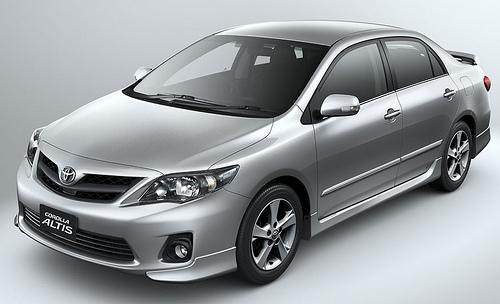 ชุดแต่งรอบคัน Toyota Altis 2010 2011 2012 ทรง 2.0