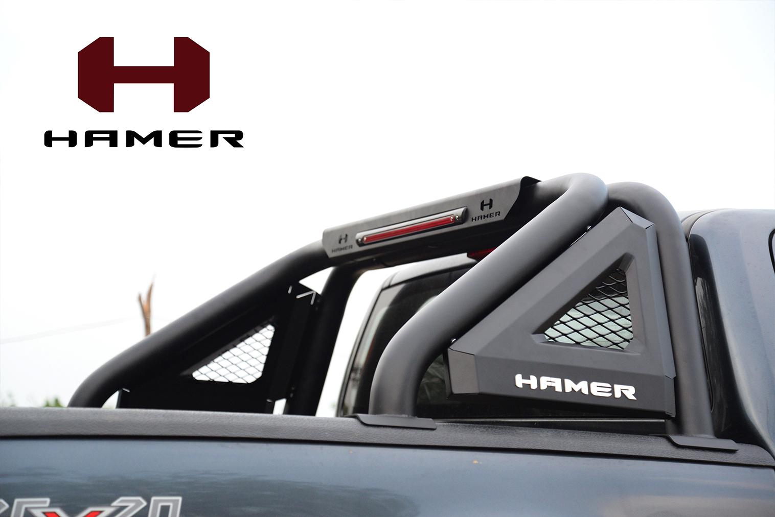 โรลบาร์ HAMER รุ่น HR1701 มีไฟ