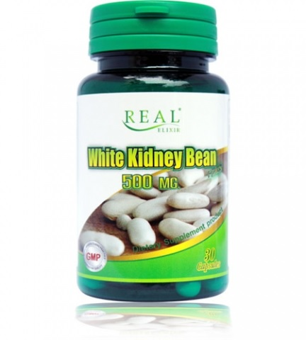 Real Elixir White Kidney Bean 500mg. สำเนา