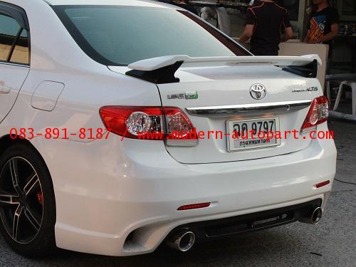 ชุดแต่งรอบคัน Toyota Altis 2008 2009 TRD Spotivo