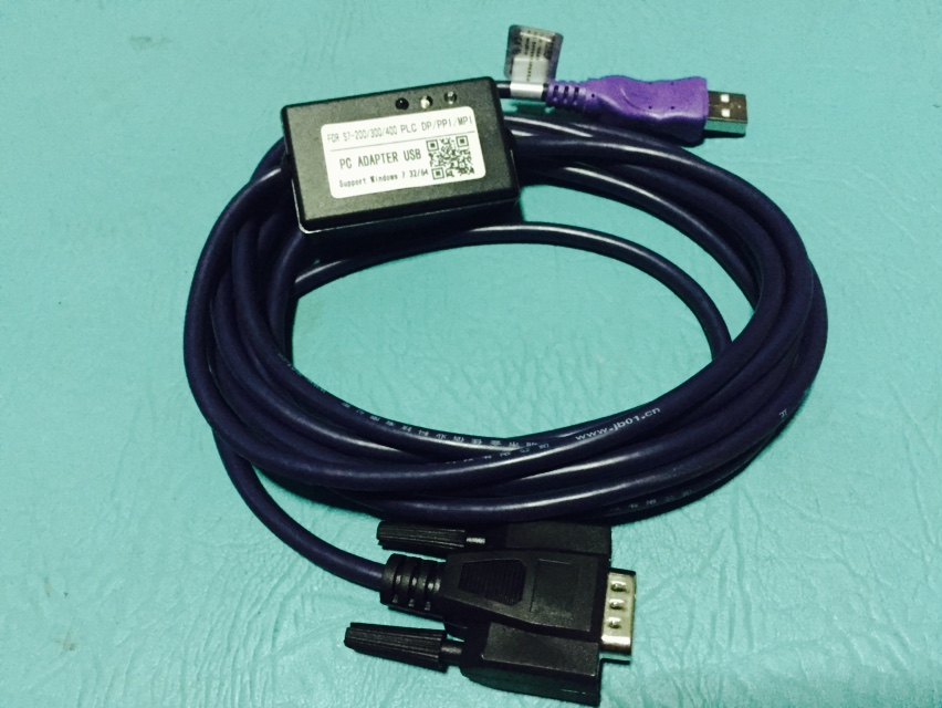 สายลิ้งค์ PLC Siemens PC Adapter USB MPI for Siemens S7-200/300/400 PLC DP/PPI/MPI/Profibus win7 64bit