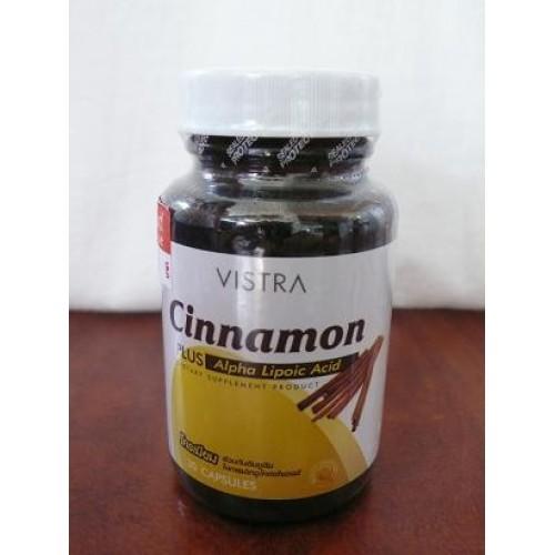 Vistra Cinnamon plus Alpha Lipoic Acid 30capsules.