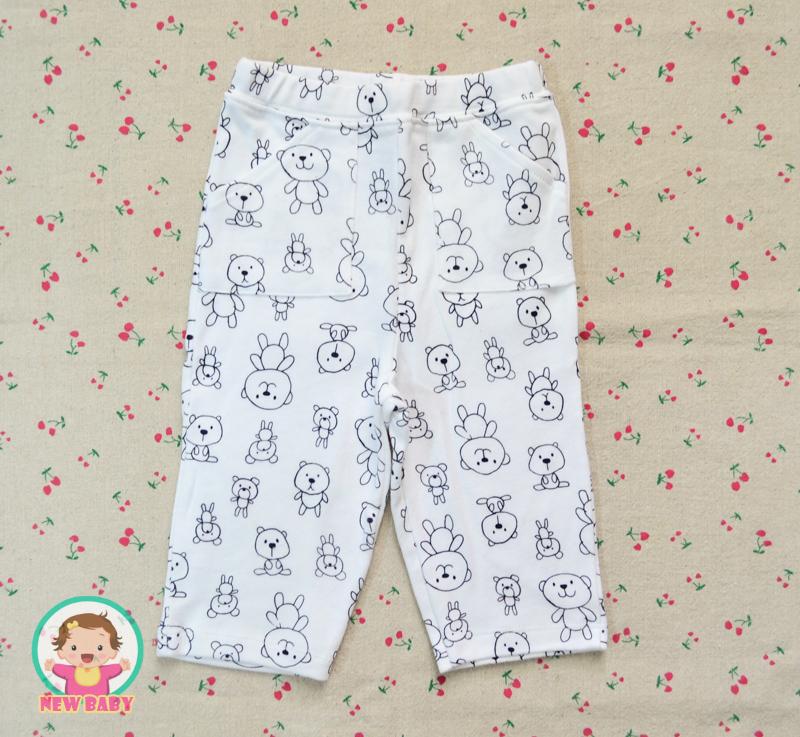 ไซส์ 12-18 เดือน กางเกงขายาวเด็ก เนื้อผ้าฝ้าย นิ่มมากๆ