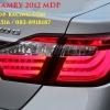โคมไฟท้าย Camry 2012 2013 BMW S7 แดง