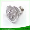 หลอดไฟLED E27 Spotlamp Aluminium 4w.