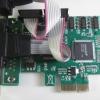 การ์ด PCI-EX เพิ่มพอร์ต RS232(Serial)