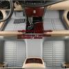 ถาดปูพื้นรถยนต์ 5D เข้ารูป 100 % All new Fortuner 2015 สีเทา