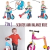 scooter and balance bike
