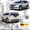 ชุดแต่ง ฺCR-V (2013-2014) รุ่น ZX (7 ชิ้น)