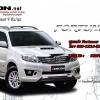 ชุดแต่ง Fortuner 2011 2012 2013 ZERCON ZX