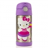 Thermos Funtainer Bottle Hello Kitty Purple