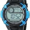 นาฬิกาข้อมือผู้ชายแนวสปอร์ตของแท้ Armitron Sport 408268BLU Digital ดิจิตอล สายข้อมือยาง