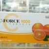 C-Force 1000 mg 60 เม็ด วิตามินซีช่วยป้องกันภูมิแพ้ ซีฟอร์ท เรทส่ง 200 บาท