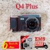 กล้องติดรถยนต์ เทพ !!! STAR Q4+ ชิปเซ็ตเทพ Novatek96655 เลนส์เทพ SONY IMX323 FullHD จอเทพ IPS 4นิ้ว บันทึกภาพหน้าหลัง คมชัดทั้งกลางวันและกลางคืน