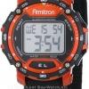 นาฬิกาข้อมือผู้ชายแนวสปอร์ตของแท้ Armitron Sport 408291RED Digital เรือนสีแดง ดิจิตอล สายข้อมือไนล่อน