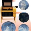 laser ผ้า เลเซอร์ ผ้ายีนส์ หรือ เลเซอร์ สิ่งทอ