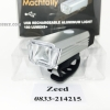 ไฟหน้า Machfally Aluminium Light 180 Lumens ชาร์ตUSB สว่างมาก[10/10]