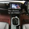 พรมปูพื้นรถยนต์ 5D เข้ารูป Toyota REVO