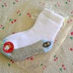ไซส์ 9-10 ซม. ถุงเท้าเด็กเล็ก (0-3 เดือน)