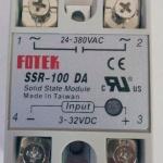 โซลิดสเตตรีเลย์ Solid state relay 100A SSR -100DA