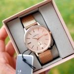 นาฬิกา Parfois Watch ของแท้ ชอปยุโรป 2017 สีพิงค์โกลด์ Pink Gold Edition 2017
