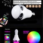 Smart RGB LED Light Bulb หลอดไฟมีเสียงและเปลี่ยนสี