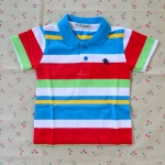 ไซส์ 2 เสื้อคอโปโลเด็กผู้ชาย ผ้าCotton อย่างดี